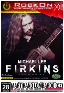 RockOn 2018 – Winter Edition: Michael Lee Firkins a Martirano Lombardo