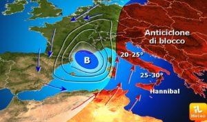 Pasqua con temperature quasi estive in Calabria, rischio alluvioni al Nord