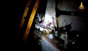Abitazione in fiamme, intervento dei Vigili del Fuoco