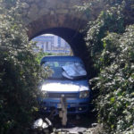 Due auto rubate ritrovate vicino al campo dei rom