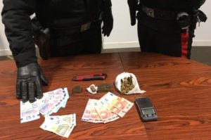 Detenzione di sostanze stupefacenti, studente universitario arrestato