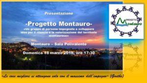 """Domani la presentazione del Gruppo Civico """"Progetto Montauro"""""""