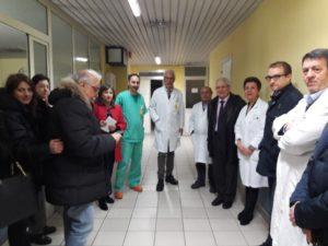 Intitolato al dottor Giovanni Notaro il reparto di Radiologia dell'ospedale di Lamezia Terme
