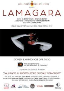"""Al Nuovo Supercinema di Catanzaro giovedì 8 marzo doppio appuntamento con """"Lamagara"""""""