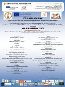 """Giovedì 15 Marzo """"Erasmus+ Day"""" al Teatro Comunale di Soverato"""