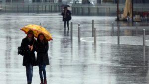 Maltempo – Pioggia e vento forte in Calabria