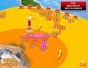 Meteo   Scoppia la primavera in Calabria, temperature fino a 20 gradi!