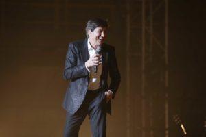 Grande successo per Gianni Morandi a Reggio Calabria, il 19 luglio la replica a Soverato