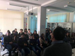 """Studenti del """"Majorana"""" di Girifalco in Arpacal a Catanzaro"""