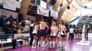 Volley Soverato – Sconfitta a Chieri. Si chiude al settimo posto: playoff con Battistelli San Marignano