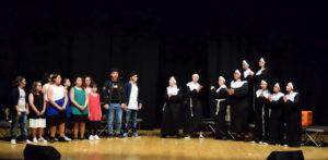 """Standing ovation per gli studenti della """"Piccola compagnia Antonio Federico"""" nel musical """"Sister Act 2"""""""