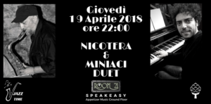 Sassofono e pianoforte protagonisti al Jazz Club Room 21 di Soverato