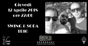 Una serata dedicata alla musica swing al Jazz Club Room 21 di Soverato