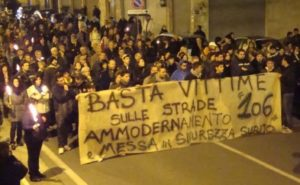 Il TG5 sulla S.S.106 offende e disinforma ogni italiano