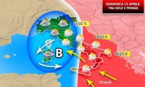 Mini ciclone di polvere sahariana si abbatte sul Sud Italia