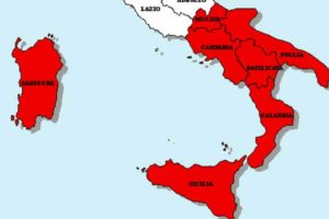 Ragionamento sulla Macroregione Meridione