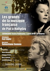 """Les grands de la musique française de Piaf à Hallyday"". Sabato al Politeama di Catanzaro"