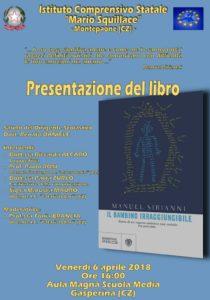 """Gasperina – Venerdì 6 Aprile presentazione del libro """"Il bambino irraggiungibile"""""""