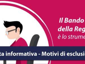 Regione Calabria – Bando autoimpiego, chiarimenti dal Dipartimento lavoro
