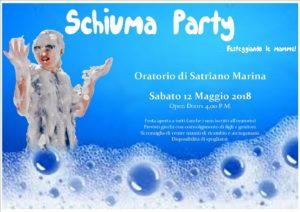 """Satriano Marina – Sabato 12 Maggio lo """"Schiuma Party … Festeggiando le Mamme"""""""