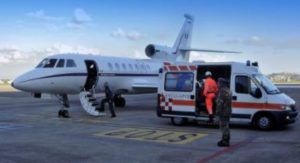 Grave bimba di 8 anni, volo d'emergenza dell'Aeronautica
