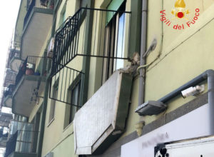 Crollo balcone a Catanzaro Lido, la Procura sequestra appartamento