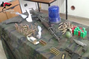 Rinvenute 400 munizioni in un casolare abbandonato