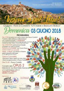 """Al via la macchina organizzativa della manifestazione """"Tutti Insieme a Badolato Borgo!"""""""