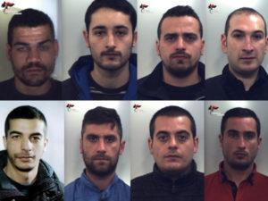 """Operazione """"Zona franca"""" contro spaccio droga e detenzione di armi, 8 arresti"""