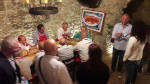 Tappa a Badolato per il tour di Lidia Bastianich in Calabria