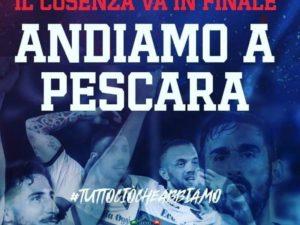 Cosenza Calcio – Giunta regionale mette a disposizione treno per finale playoff a Pescara