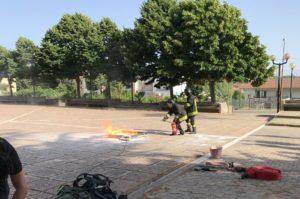 """Il Comune di Borgia ha promosso il primo corso per addetti antincendio a rischio """"elevato"""" per i rappresentanti delle associazioni"""