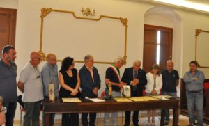 Squillace – Cerimonia di adesione ai Borghi della Salute