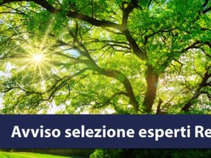 Regione Calabria – Esperti siti rete natura 2000: seconda fase di selezione