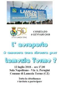 L'aeroporto è ancora una risorsa per Lamezia Terme?