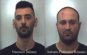 Due giovani sorpresi a rubare in una casa, arrestati