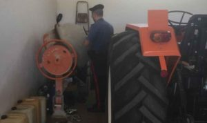 Pistola nascosta in betoniera, 59enne arrestato