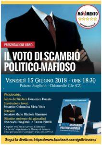 Voto di scambio politico-mafioso, convegno con i senatori Vono e Giarrusso
