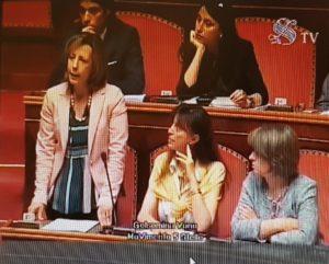 """L'intervento della senatrice Silvia Vono (M5S) oggi a Palazzo Madama: """"Sanità, serve una rivoluzione morale"""""""