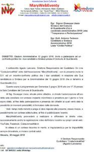Guardavalle – Tito Lanciano, Direttore Responsabile di CostaJonicaWeb, replica al sindaco Giuseppe Ussia