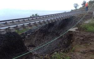 Maltempo in Calabria – Danni a linea ferroviaria, prosegue l'allerta meteo