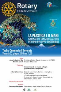 Soverato, convegno Rotary: no plastica e inquinamento