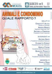 Importante seminario su animali e condominio organizzato da Confedilizia a Soverato