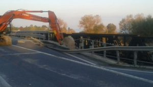 Anas – Proseguono monitoraggi ponte Allaro a Caulonia