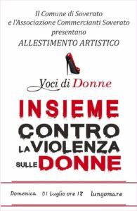 Amministrazione Comunale e Ass. Commercianti Soverato insieme contro la violenza sulle Donne