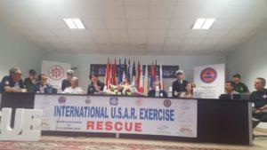 Torre di Ruggiero, esercitazione internazionale di protezione civile