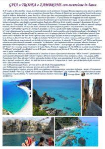 Gita da Soverato a Tropea e Pizzo con escursione in barca fino a Zambrone