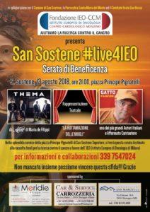 San Sostene – Lunedì 13 Agosto una serata dedicata alla raccolta fondi per la ricerca contro il cancro