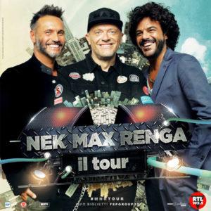 Soverato – Summer Arena, conto alla rovescia per lo start di Max Pezzali, Nek e Renga del 16 luglio