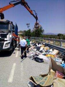 Operazione di bonifica di discariche abusive nel territorio di Roccelletta di Borgia e San Floro